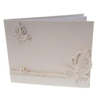 Boek zonder lijstje met vlinders