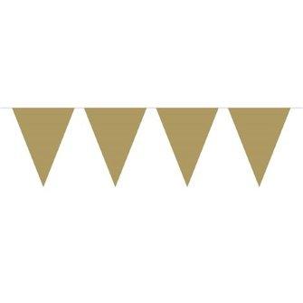 Vlaglijn goud onbedrukt