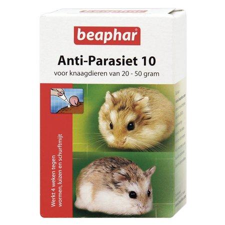 Beaphar Anti-Parasiet 10 ml voor knaagdieren van 20-50 gram