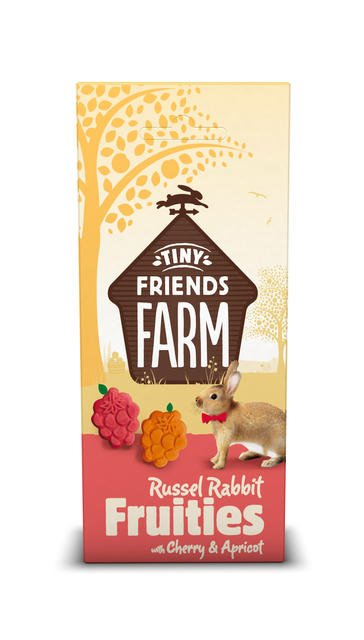 Supreme Russel Rabbit Fruitees Cherry & Apricot 120 grams