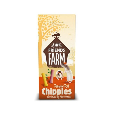 Supreme Reggie Rat Chippies 120 gram