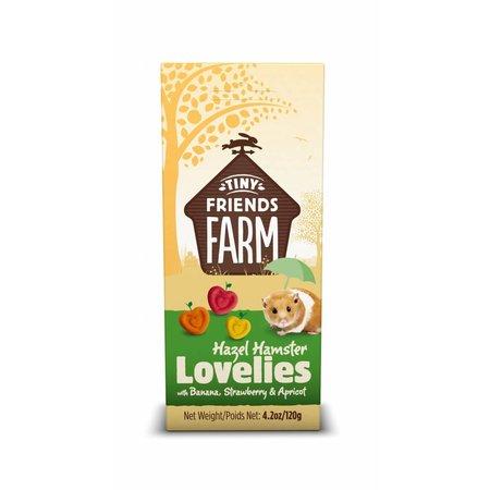Supreme Hazel Hamster Love Lies Banane, Erdbeere und Aprikose 120g