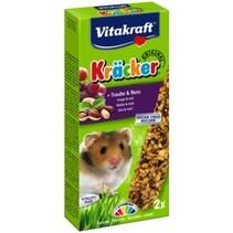 Hamster Kracker Trauben und Nüsse