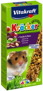 Vitakraft Vitakraft Kracker Hamster Trauben und Nüsse