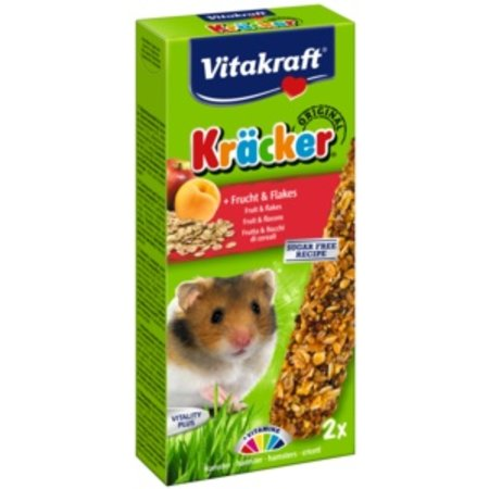 Vitakraft Vitakraft Kracker Hamster Fruit & Flakes