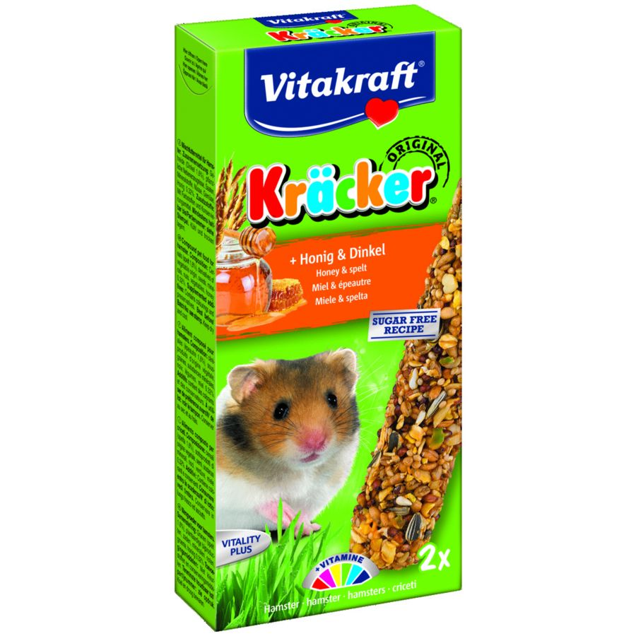 Vitakraft Hamster Kracker Honey & Spelled