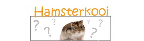 image Voor mijn hamster vriendjes