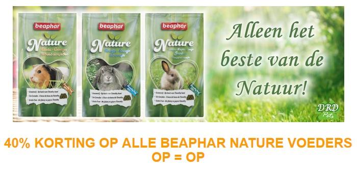 40% Korting Beaphar Nature OP = OP