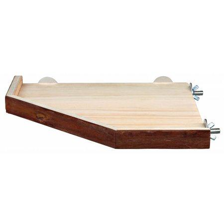 Trixie Holzplattform mit Rand 17 cm