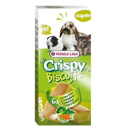 Versele-Laga Crispy Biscuit Rodent Vegetable 70 grams