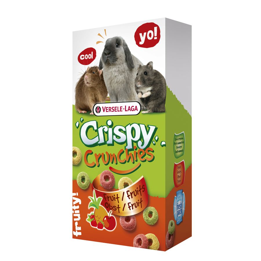Versele-Laga Knusprige Crunchies Fruit 75g