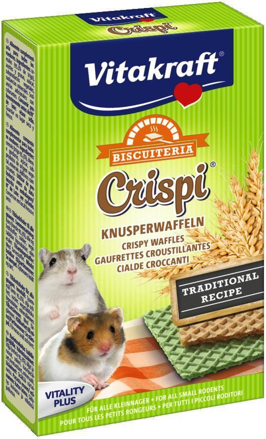 Vitakraft Hamster Waffeln Crispi