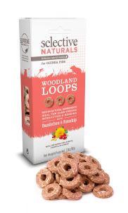 Supreme Selective Naturals Woodland Loops Guinea pig 80 gram