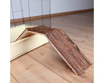 Houten Brug met Schors 63 cm
