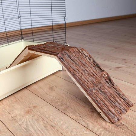 Trixie Houten Brug met Schors 63 cm