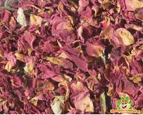 Red rose petals 100 grams