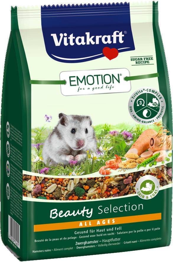 Vitakraft Emotion Beauty Selection Dwarf Hamster 300 grams