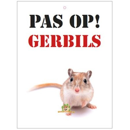 Knaagdierwinkel.nl Beware! Gerbils