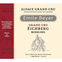 2012 - Riesling Grand Cru Eichberg - Emile Beyer