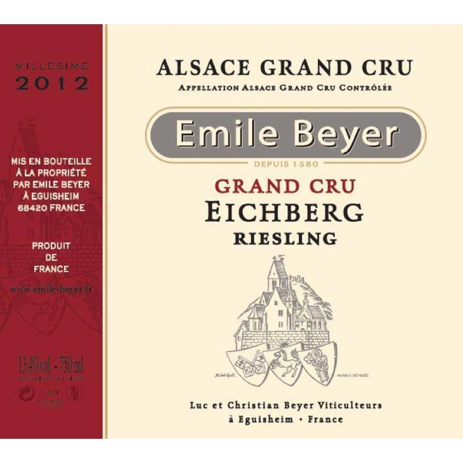 Domaine Emile Beyer - Riesling Grand Cru Eichberg - 2014