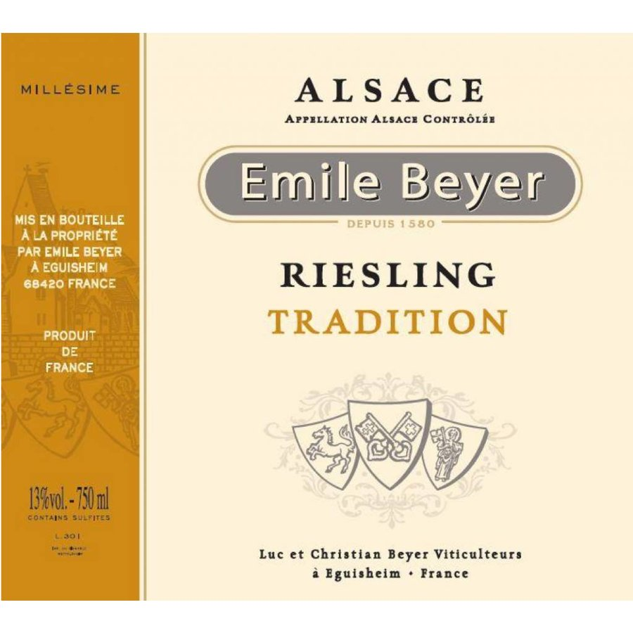 2013 - Riesling Tradition - Domaine Emile Beyer