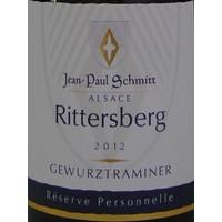 2012 - Gewurztraminer Rittersberg Réserve Personnelle - Domaine Jean-Paul Schmitt