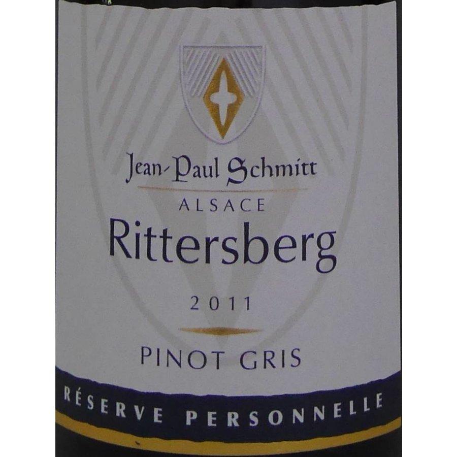 2011 - Pinot Gris Rittersberg Réserve Personnelle - Domaine Jean-Paul Schmitt