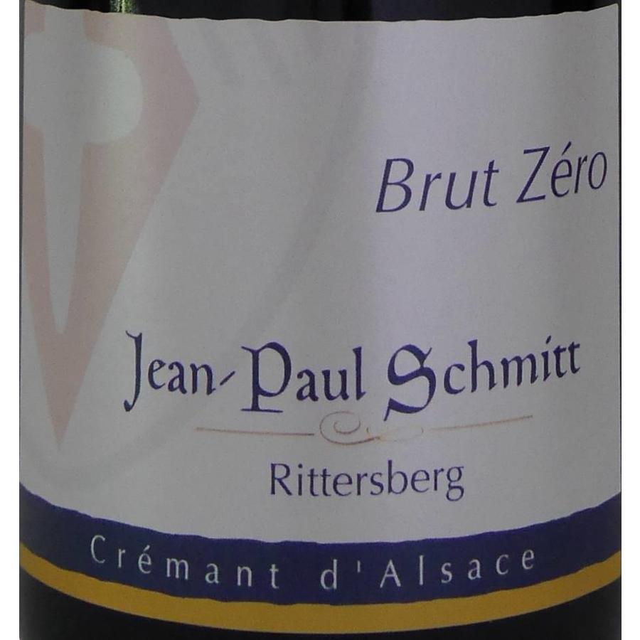 Cremant - Brut Zéro - Domaine Jean-Paul Schmitt