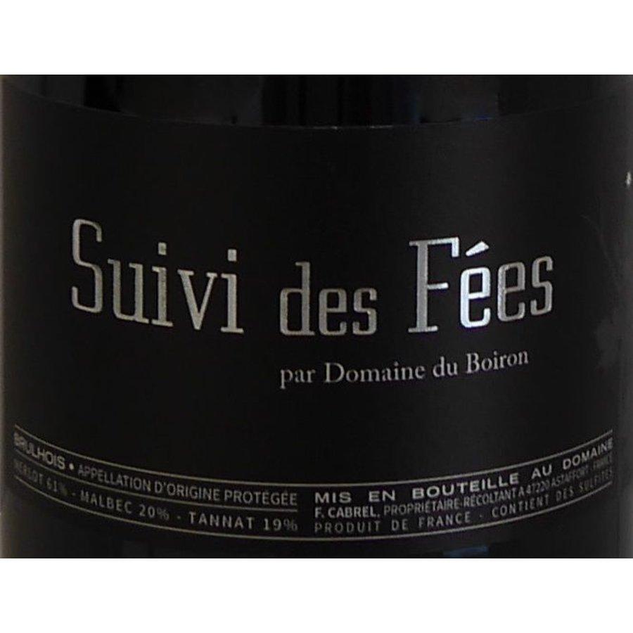 2014 - Suivi des Fées - Domaine du Boiron