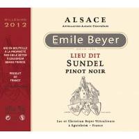 2015 - Pinot Noir Lieu dit Sundel - Emile Beyer