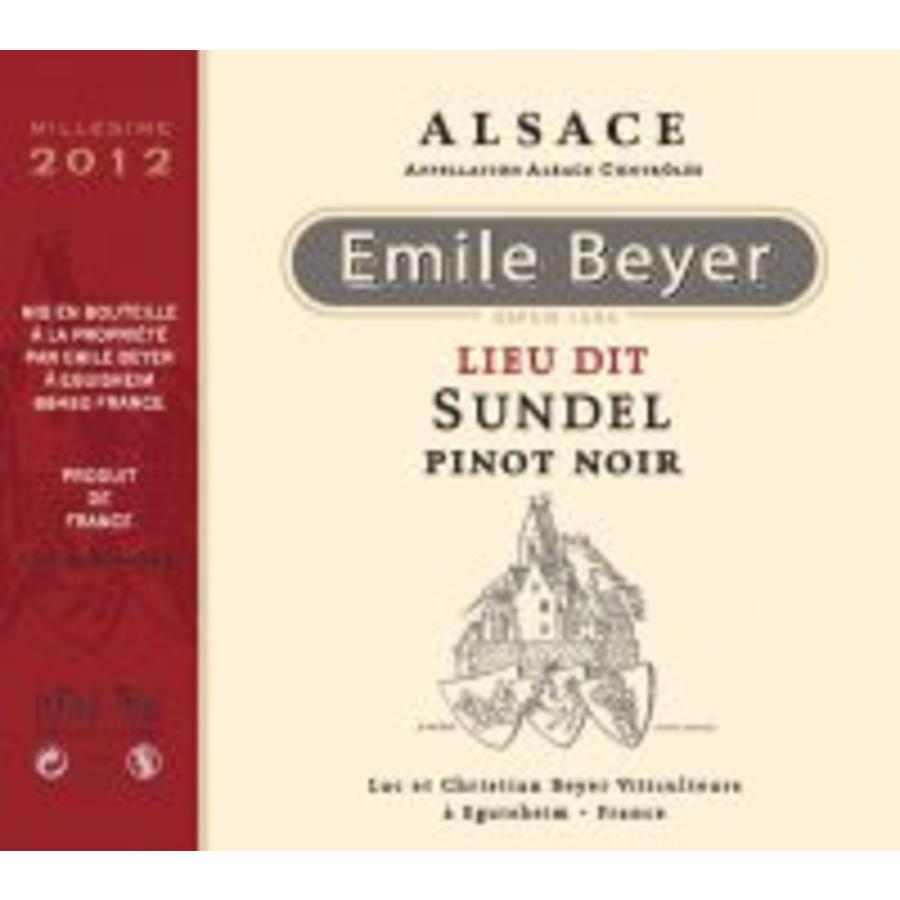 """Domaine Emile Beyer - Pinot Noir """"Lieu-dit Sundel"""" - 2015"""