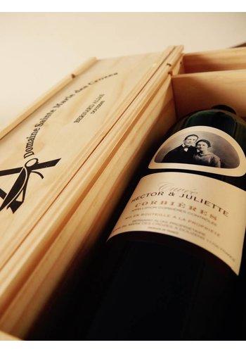 2015 - Hector et Juliette - Magnum in houten kist - Domaine Sainte Marie des Crozes