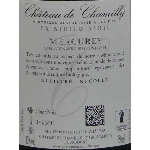 """Château de Chamilly - Mercurey """"les Monthelons"""" - 2014"""