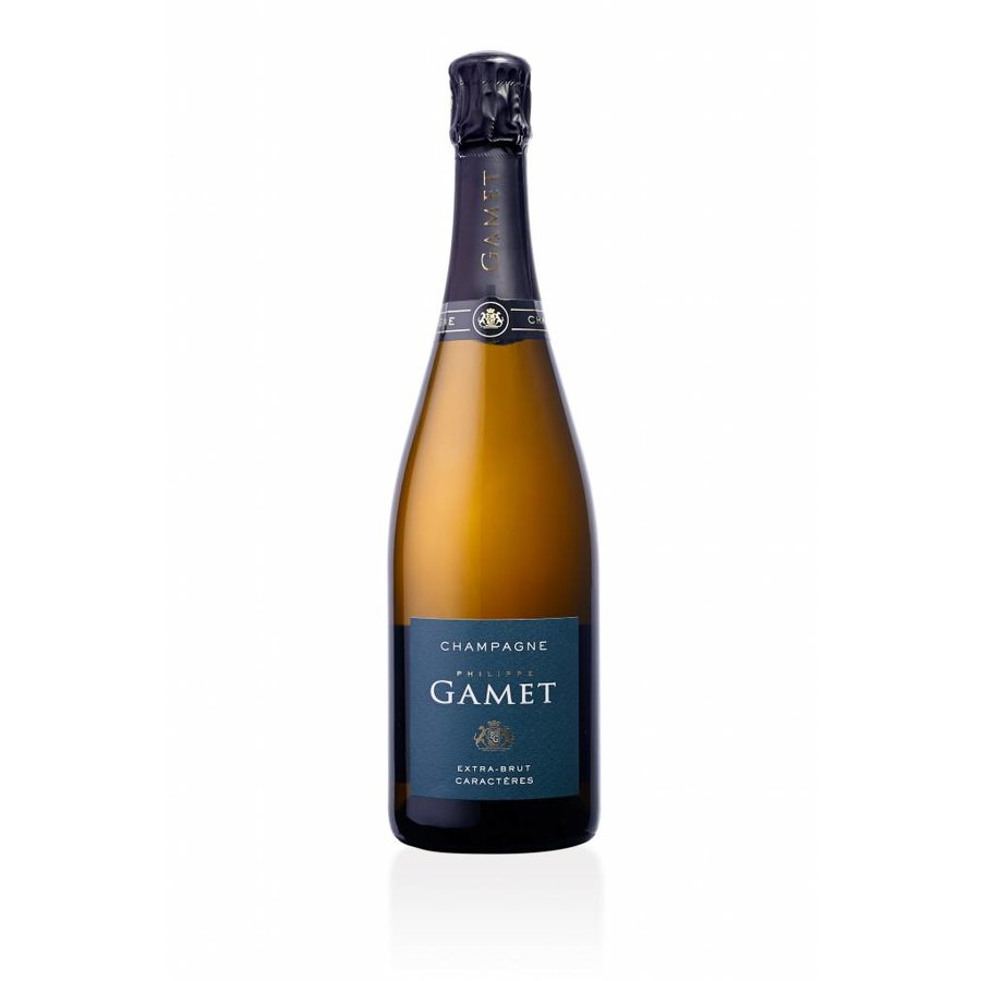 Champagne Gamet - Extra Brut - Caractères