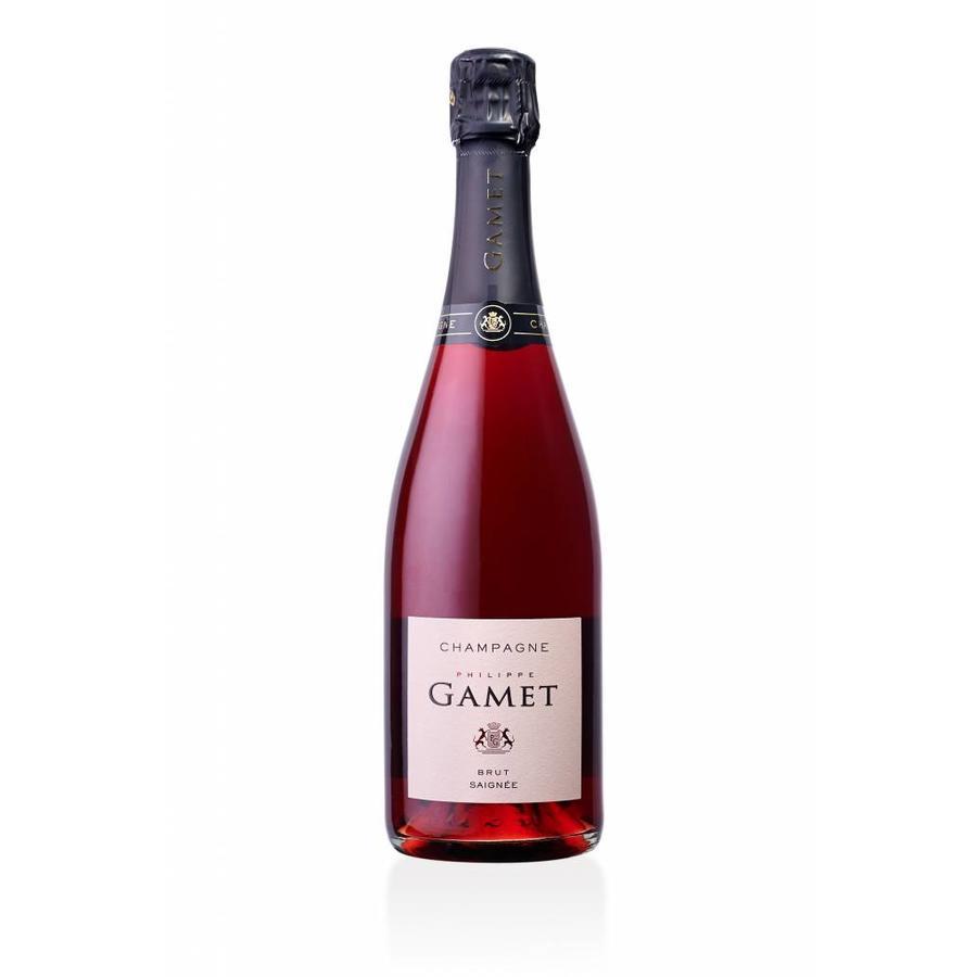 Champagne Gamet - Brut rosé de saignée