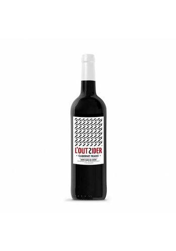 2016 - L'Outsider – cabernet franc - sainte marie des crozes