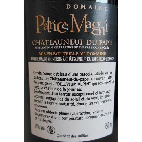 Domaine Patrice Magni - Châteauneuf-du-Pape Rouge Cuvée Pressoir - 2015