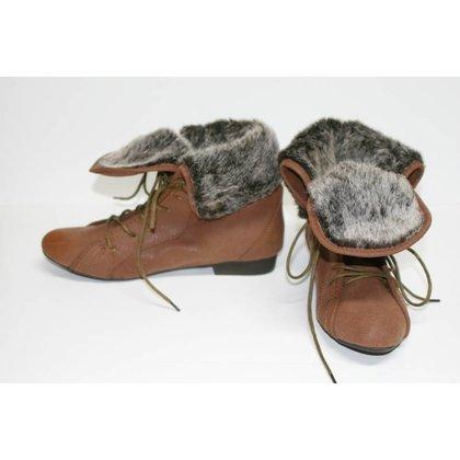 N2H Shoes Enkellaars N2H BROWN
