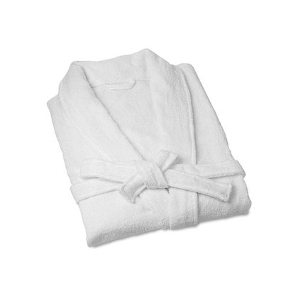Bomdia BATHROBE WHITE COTTON