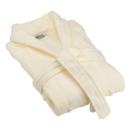 Bomdia BATHROBE ECRU COTTON