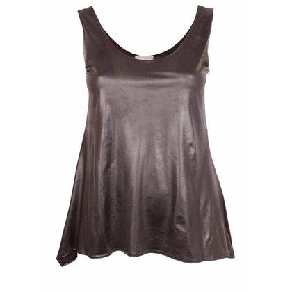 Magna Fashion Top A26 LEATHERLOOK