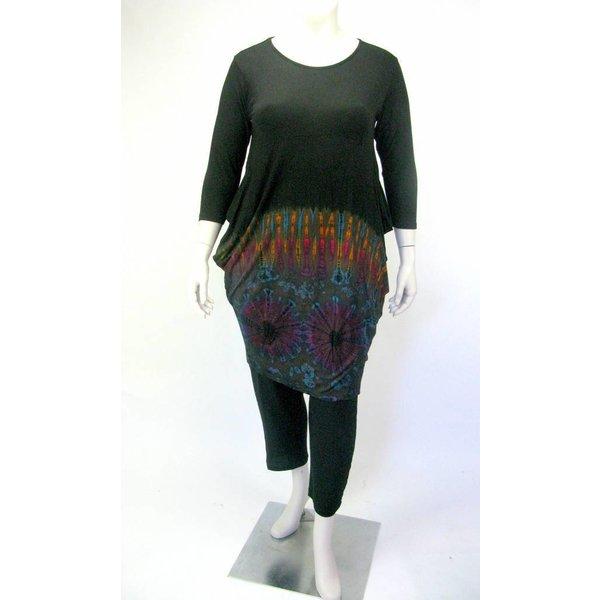 6359c92b093 Hip Large sizes Ladies Shirt GT LONG II LYCRA - Kay Fashion