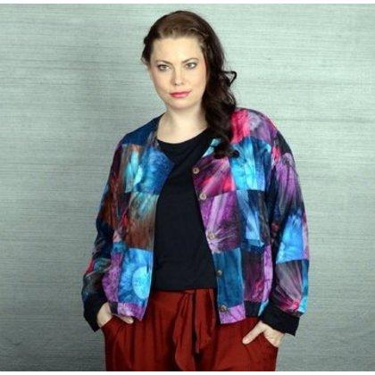 Luna Serena Jacket PATCH SHORT PRINT