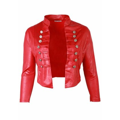 Magna Fashion Jacket K5002 LEATHER LOOK