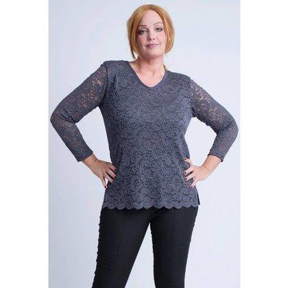 Magna Fashion Shirt B4013 SOLID LACE