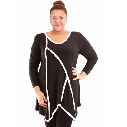 Magna Fashion Tuniek C4010 SOLID PRINT