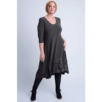 Magna Fashion Dress C6034 SOLID