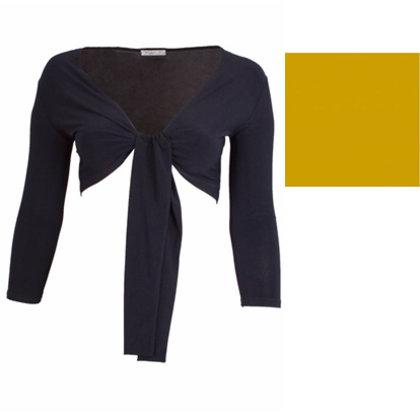 Magna Fashion SALE Bolero BASIC OKER GEEL