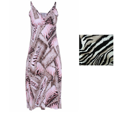 Magna Fashion VERKAUF Kleid C4021 PRINT 082P007