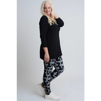 Magna Fashion Legging F6002 VISCOSE PRINT